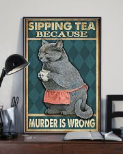 Sipping Tea 11x17 Poster lifestyle-poster-2