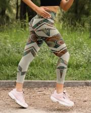 Nurse Vintage Leggings  High Waist Leggings aos-high-waist-leggings-lifestyle-15