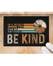 """Be Kind Doormat 22.5"""" x 15""""  aos-doormat-22-5x15-lifestyle-front-05"""