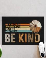 """Be Kind Doormat 22.5"""" x 15""""  aos-doormat-22-5x15-lifestyle-front-06"""