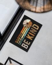 """Be Kind Doormat 22.5"""" x 15""""  aos-doormat-22-5x15-lifestyle-front-08"""