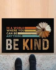 """Be Kind Doormat 22.5"""" x 15""""  aos-doormat-22-5x15-lifestyle-front-10"""