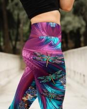 Magic Dragonflies High Waist Leggings aos-high-waist-leggings-lifestyle-11