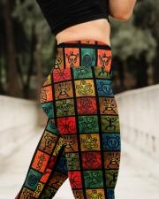 Puerto rican High Waist Leggings aos-high-waist-leggings-lifestyle-11