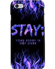 Stay your story is not over Phone Case i-phone-8-case