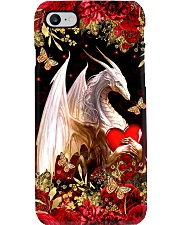 Love Dragons Valentine Phone Case i-phone-8-case