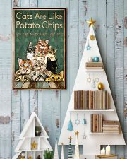 Cats are like potato chips 11x17 Poster lifestyle-holiday-poster-2