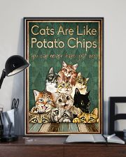 Cats are like potato chips 11x17 Poster lifestyle-poster-2