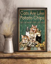 Cats are like potato chips 11x17 Poster lifestyle-poster-3