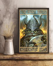Too Many Idiots 11x17 Poster lifestyle-poster-3
