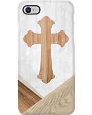 Faith Faux Wood Print Phone Case i-phone-8-case