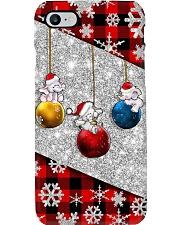 Elephant Christmas - Printed phone case Phone Case i-phone-8-case