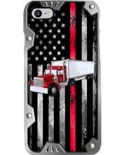 Firefighter Metal Pattern Print Phone Case i-phone-8-case