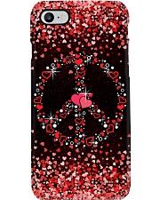 Heart Rain Valentine  Phone Case i-phone-8-case