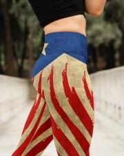 Puerto Rican Flag  High Waist Leggings aos-high-waist-leggings-lifestyle-11