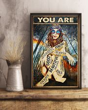 You Are Enough 11x17 Poster lifestyle-poster-3