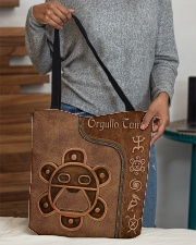 Orgullo Taino Leather Pattern Print  All-over Tote aos-all-over-tote-lifestyle-front-10