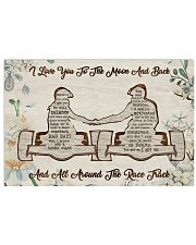 I Love You To The Moon 17x11 Poster front