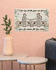 I Love You To The Moon 17x11 Poster poster-landscape-17x11-lifestyle-21