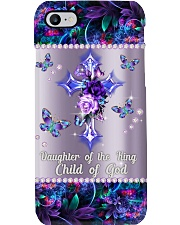 Daughter Of The King Metal Pattern Print Phone Case i-phone-8-case