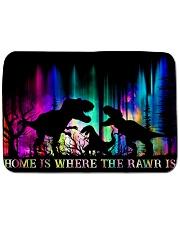 Home is Where The Rawr Is Bath Mat tile