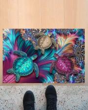 """Magic Turtles Doormat 22.5"""" x 15""""  aos-doormat-22-5x15-lifestyle-front-10"""