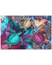 """Magic Turtles Doormat 22.5"""" x 15""""  front"""