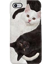 Yin Yang Cats Phone Case i-phone-8-case