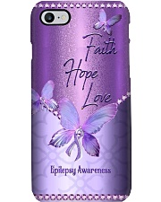 Faith Hope Love Metal Pattern Print Phone Case i-phone-8-case