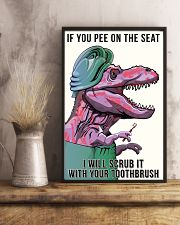 If you pee on the seat 11x17 Poster lifestyle-poster-3