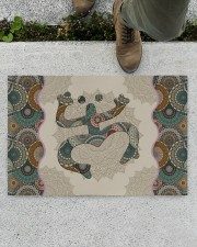 "Mandala Frog Doormat 22.5"" x 15""  aos-doormat-22-5x15-lifestyle-front-01"