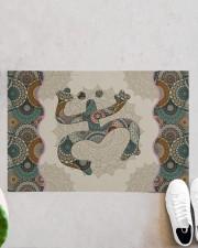 "Mandala Frog Doormat 22.5"" x 15""  aos-doormat-22-5x15-lifestyle-front-06"