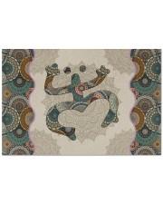"""Mandala Frog Doormat 22.5"""" x 15""""  front"""