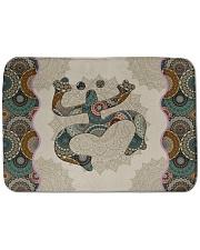 Mandala Frog Bath Mat tile