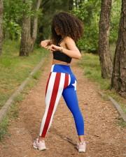 Puerto Rico High Waist Leggings aos-high-waist-leggings-lifestyle-17
