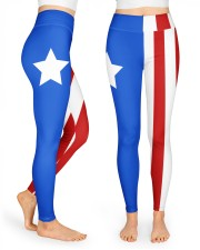 Puerto Rico High Waist Leggings front
