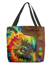 Hippie soul leather pattern All-over Tote back