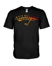 Vu Meter T Shirt Sound Engineer Tee shirts V-Neck T-Shirt thumbnail