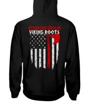 AMERICAN GROWN - VIKING ROORS Hooded Sweatshirt back