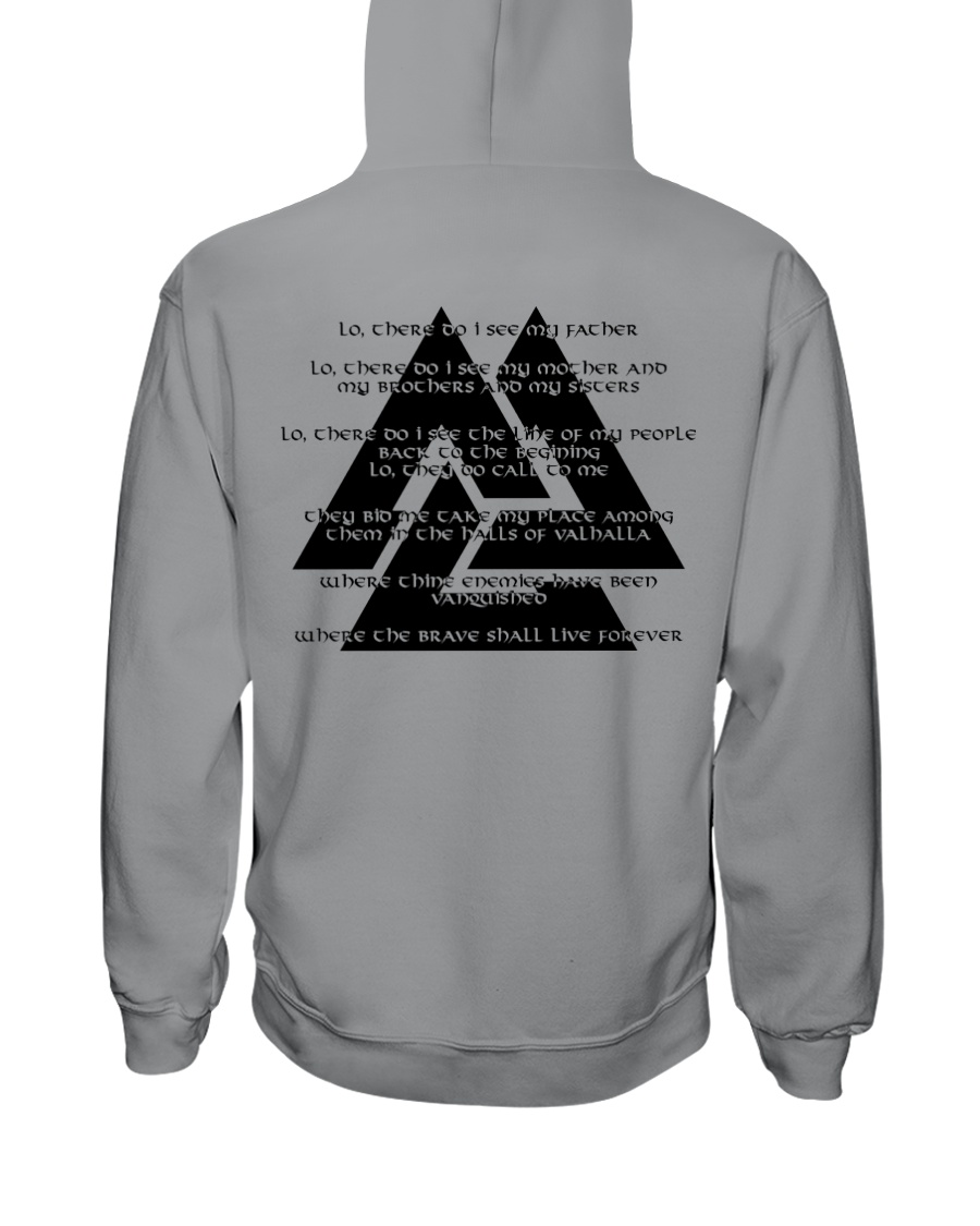 VIKING - The Valknut Hooded Sweatshirt