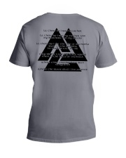 VIKING - The Valknut V-Neck T-Shirt tile