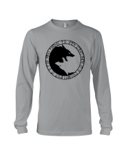YIN YANG WOLF - VIKING SHIRT Long Sleeve Tee front
