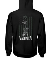 VIKING ZON t-shirt Hooded Sweatshirt back