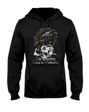 Die in Battle Hooded Sweatshirt thumbnail