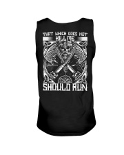 THAT WHICH DOES NOT KILL ME SHOULD RUN - VIKING Unisex Tank thumbnail