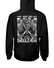 THAT WHICH DOES NOT KILL ME SHOULD RUN - VIKING Hooded Sweatshirt thumbnail