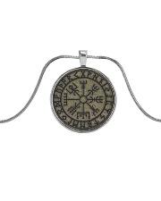 VIKING ZON Metallic Circle Necklace front
