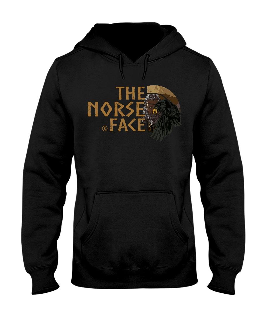 VIKING TEE - NORSE FACE Hooded Sweatshirt