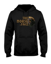 VIKING TEE - NORSE FACE Hooded Sweatshirt front