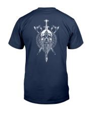 VIKING SKULL - VIKING SHIRT Classic T-Shirt back